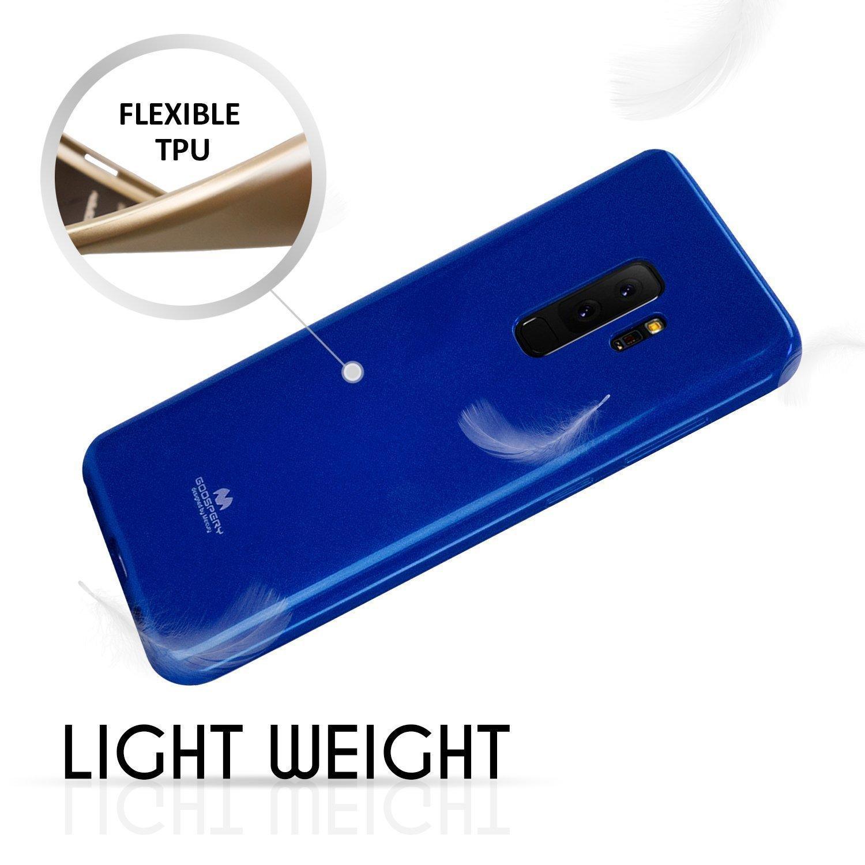 Kelebihan Mercury Jelly Soft Case For Samsung Galaxy S9 Plus Blue Goospery New Bumper X Black 3