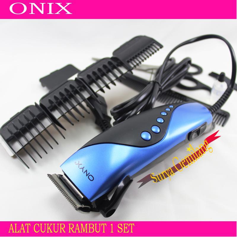 Alat Cukur Rambut Onyx 4609   Hair Clipper Elektrik Set   Mesin Pencukur  Rambut Komplit   e8a13aebc1