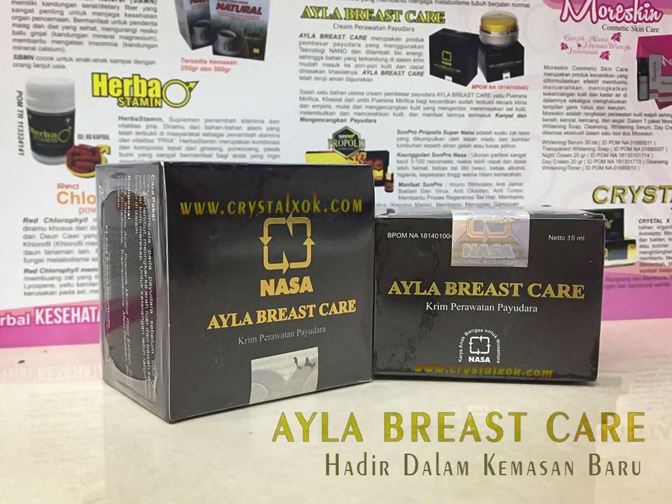 ... Ayla Breast Care Cream Perawatan Payudara Cream Pembesar Pengencang - 3 ...