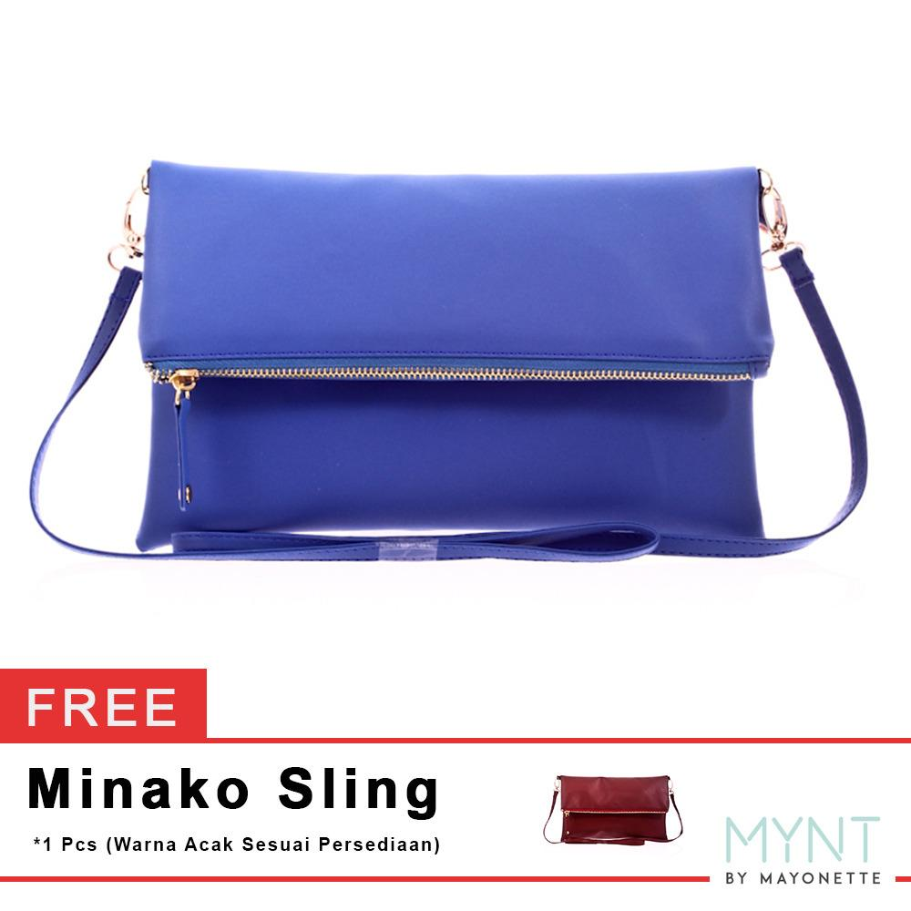 MYNT by Mayonette Buy 1 Get 1 Minako Shoulder Bag - Navy