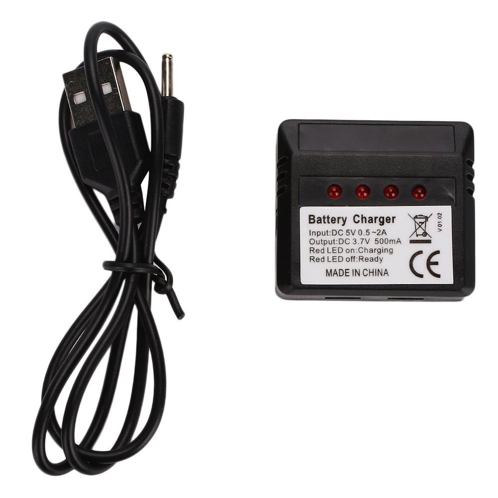 Battery Charger USB Charger Universal 3.7V 500mA Helicopter Helicopter Charging for Syma X5C X5SW X5SC