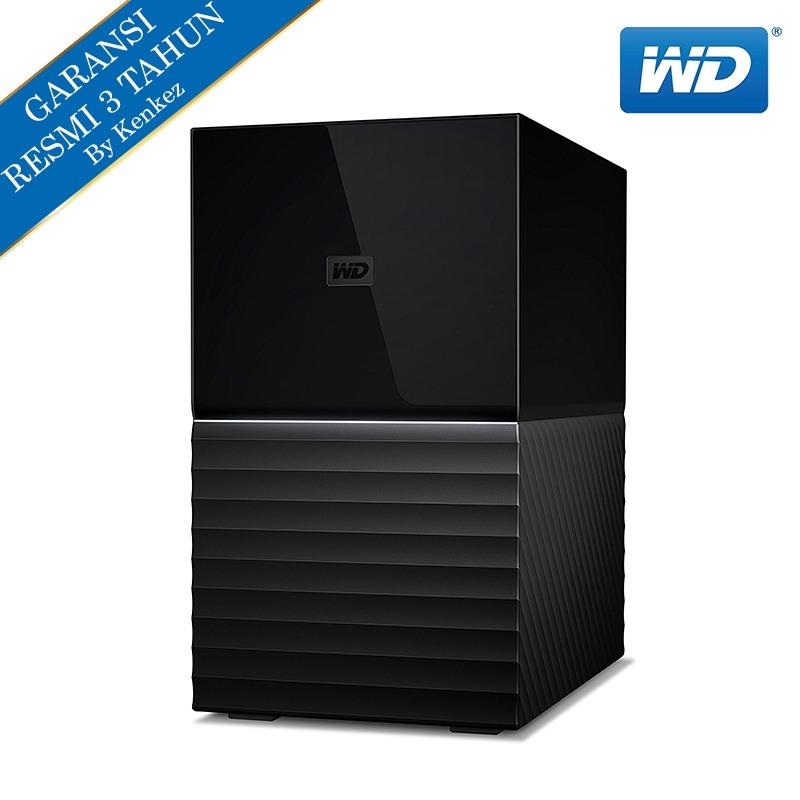 WD My Book Duo New Hardisk Eksternal 12TB 3.5