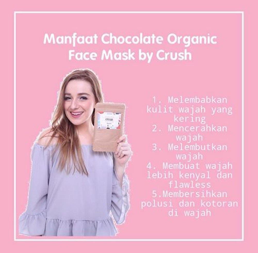 Fitur Masker Crush Organik Chocolate By Crushlicious Facemask Dan Wajah Namo Namoid Face Mask Cocoa Detail Gambar Terbaru
