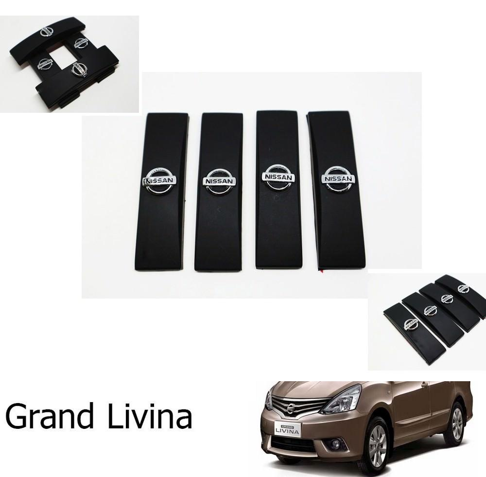 Door Guard Hitam Mobil Grand Livina