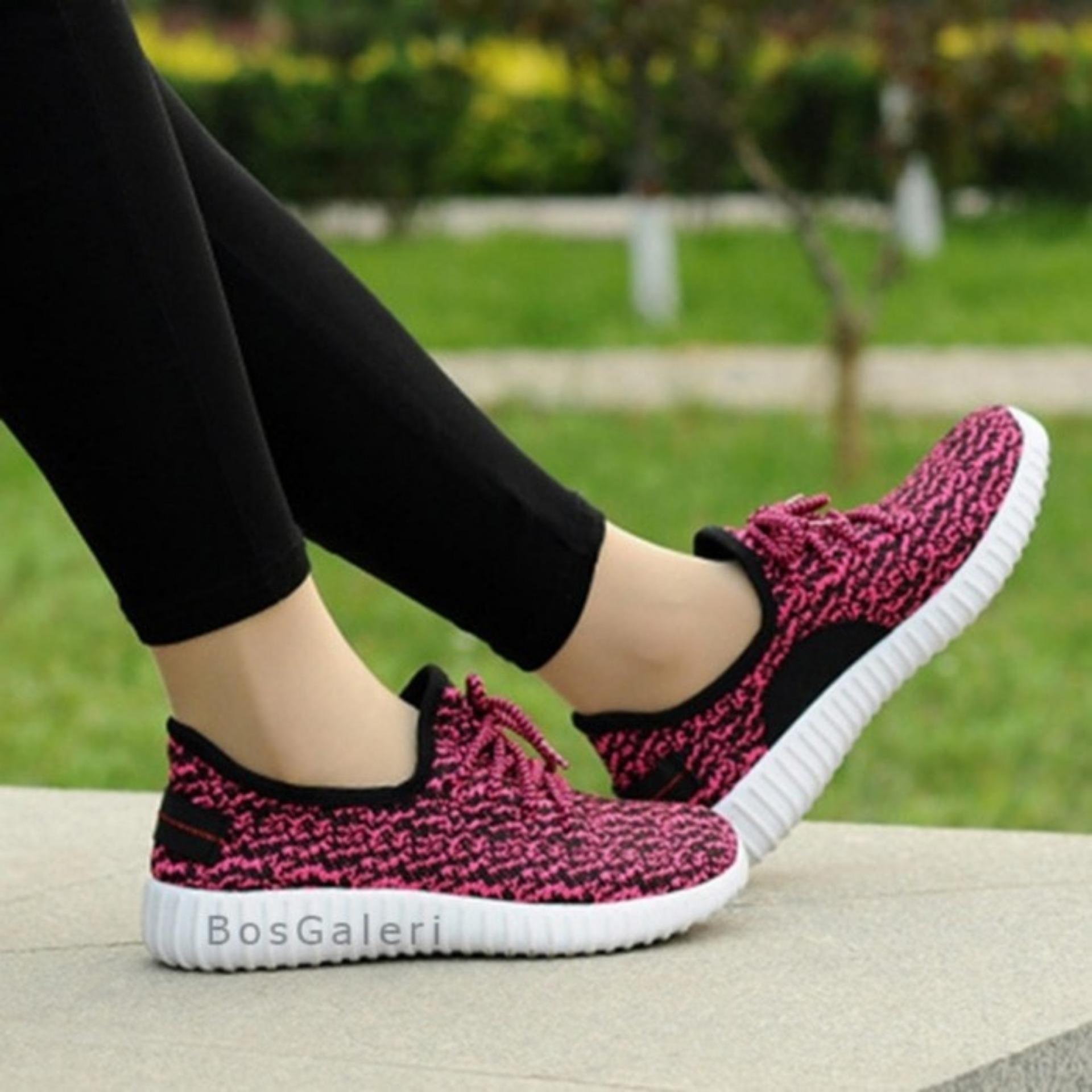 Shoegood - Sepatu Kets Sneakers Wanita Jaring