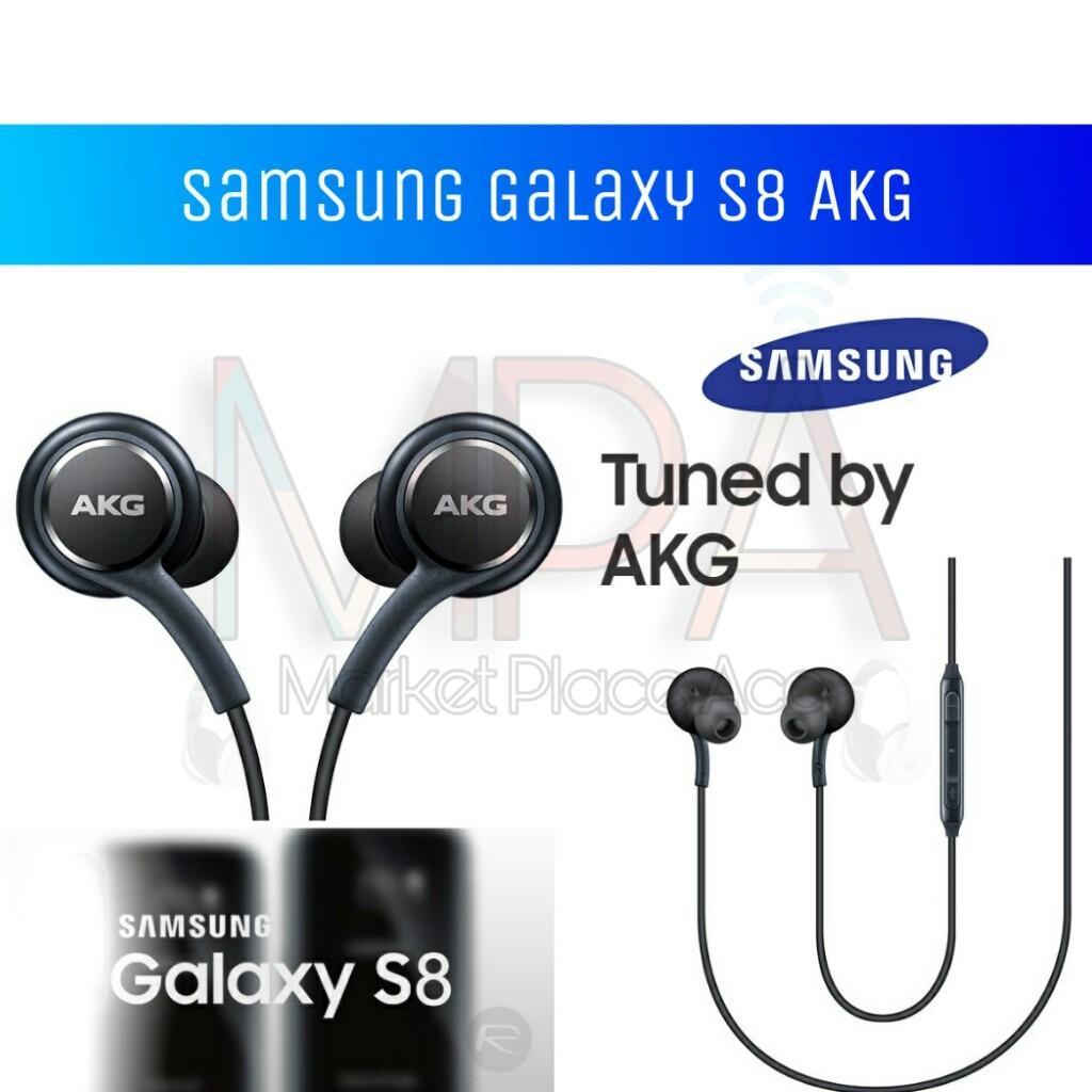 Headset Handsfree Earphone Samsung Galaxy S8 AKG