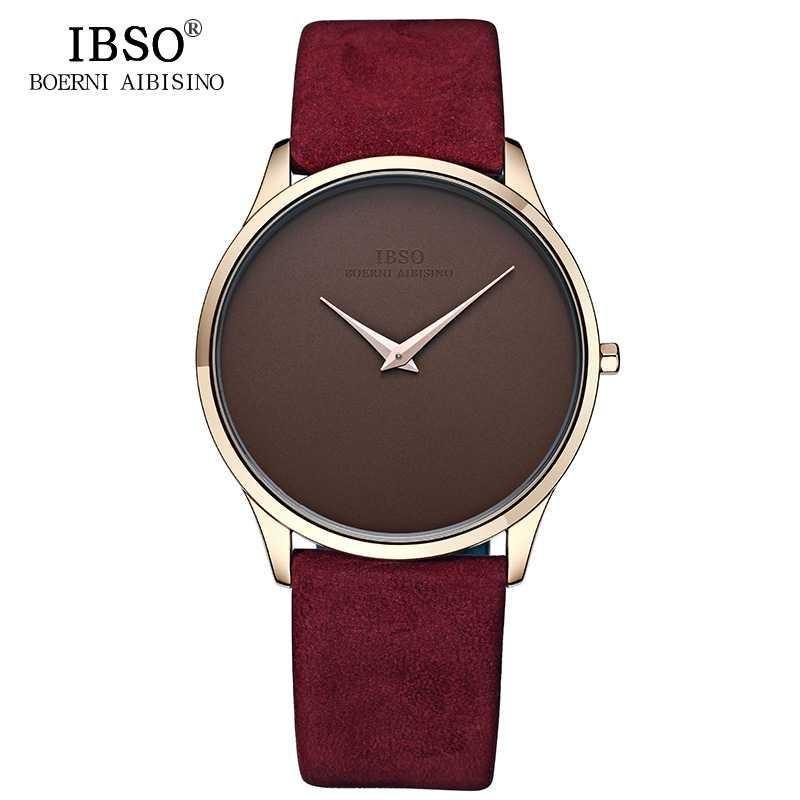 IBSO Jam Tangan Analog Pria Ultra Thin - 2219 | Man Watch