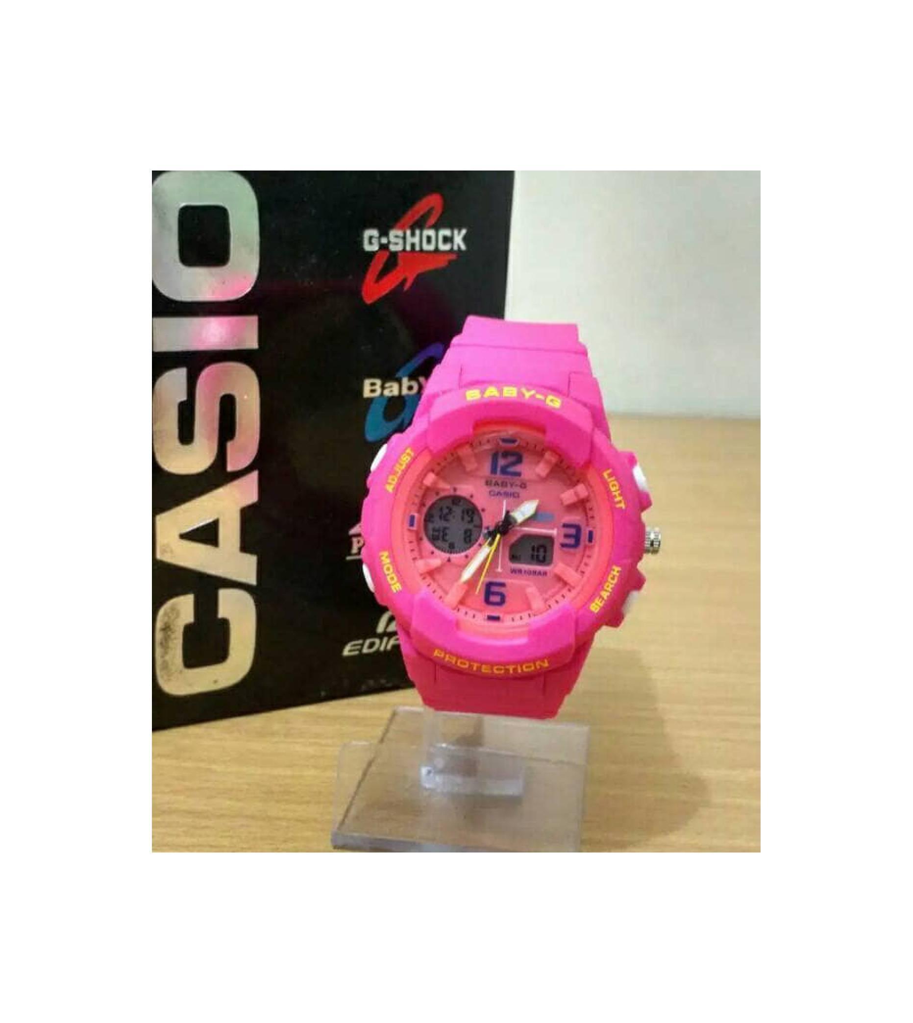 Fitur Casio Baby G Bga 230 4b Sinyal Waktu Setiap Jam Perempuan Tangan 185fs 4a Original Anak Abg Wanita Murah Ping