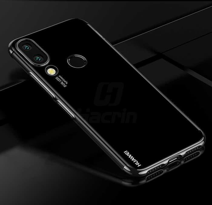 Case Huawei Nova 3i softcase transparan casing ultra thin TPU PLATING