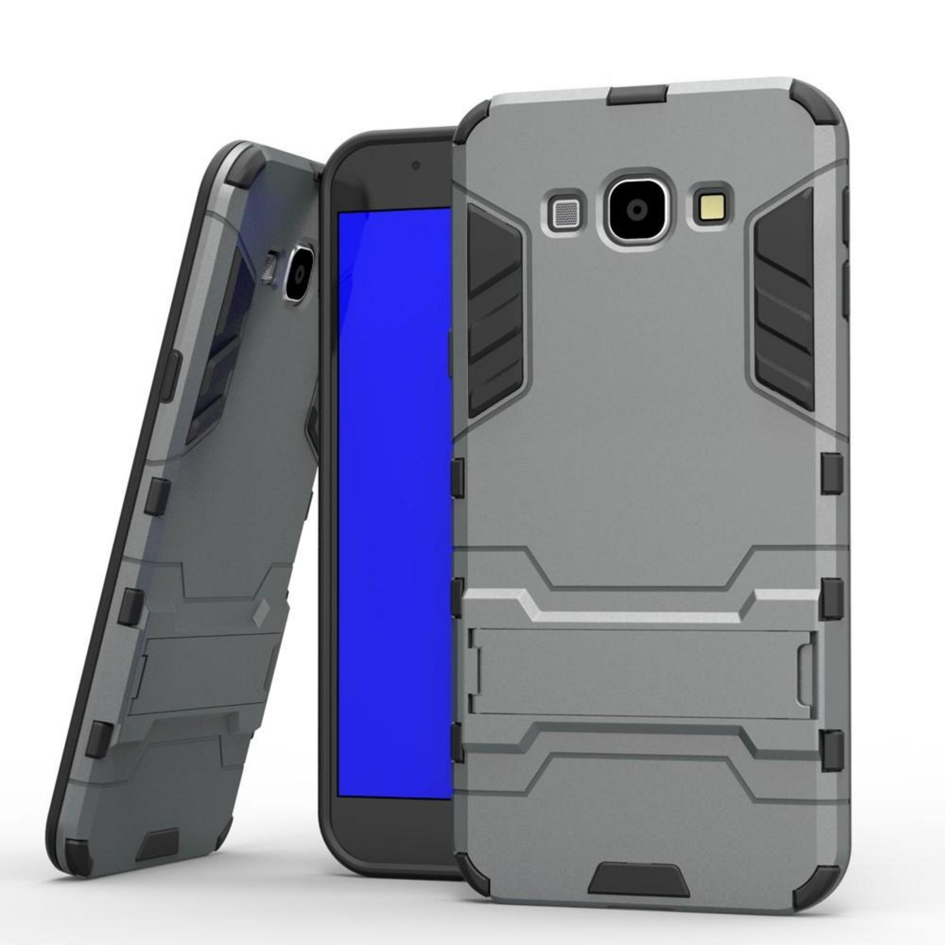 CASE EXECUTIVE IRON MAN 2 IN 1 ROBOT WITH STAND FOR SAMSUNG GALAXY J2 PRIME -