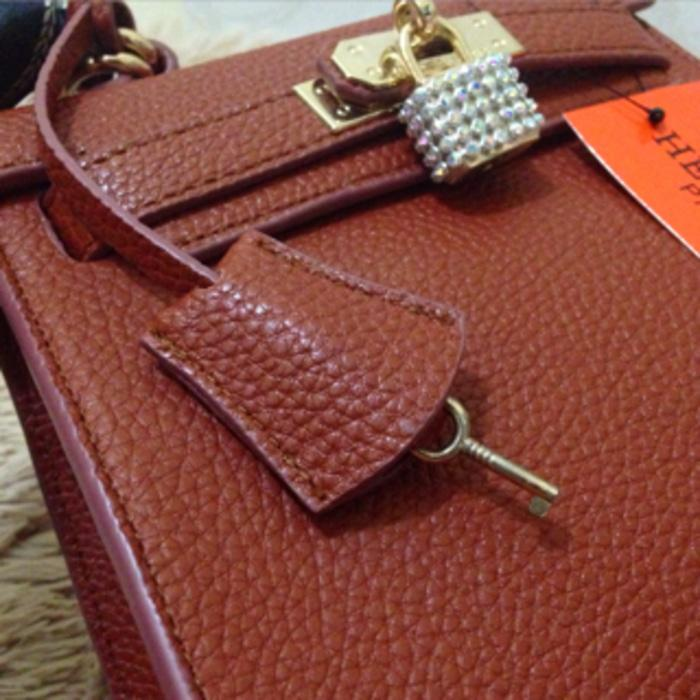 Hermes Kelly Togo mini Diamond Brown