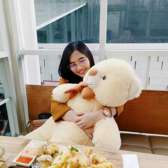Boneka beruang tedy bear jumbo
