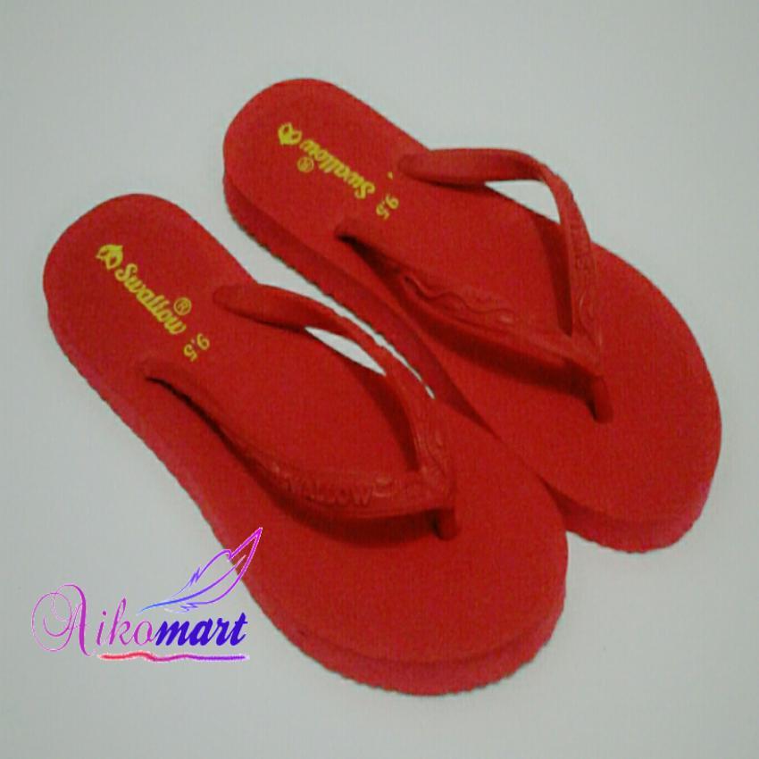 Aikomart Sandal Jepit Wanita Swallow Nice Merah