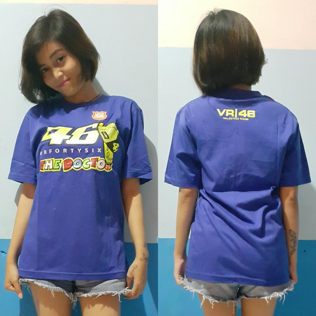 Aduuh Kaos T-Shirt Distro Premium MotoGP Valentino_Rossi The Doctor VR46 Best Seller