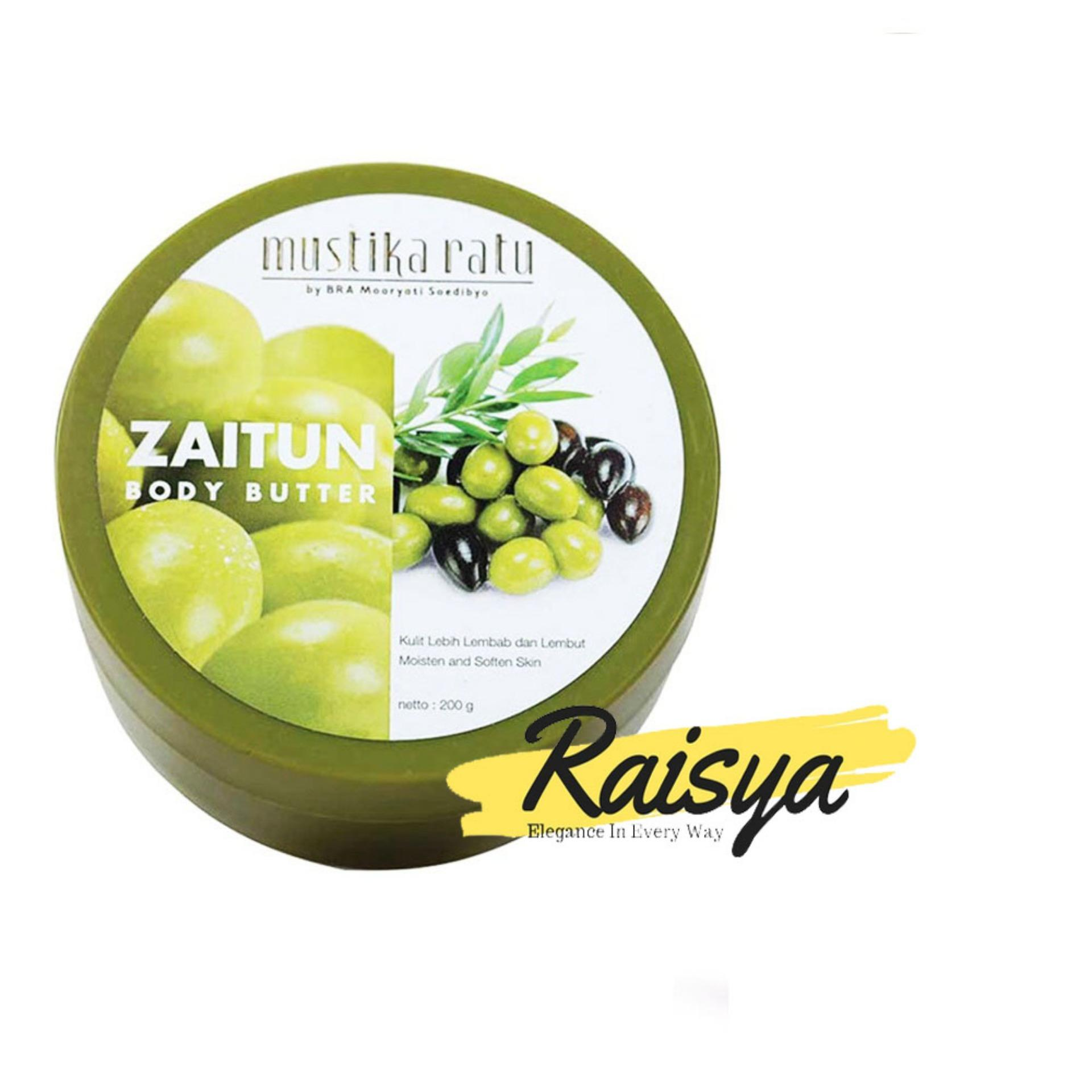 Mustika Ratu Body Butter Olive Oil Zaitun 200gr - Original