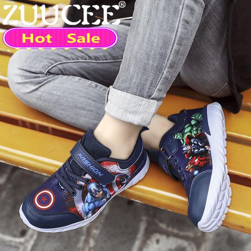 ZUUCEE Anak Laki-laki Sepatu Luar Bernapas Anak-anak Sepatu Olahraga Kasual Sepatu  anak 29ff0c234b