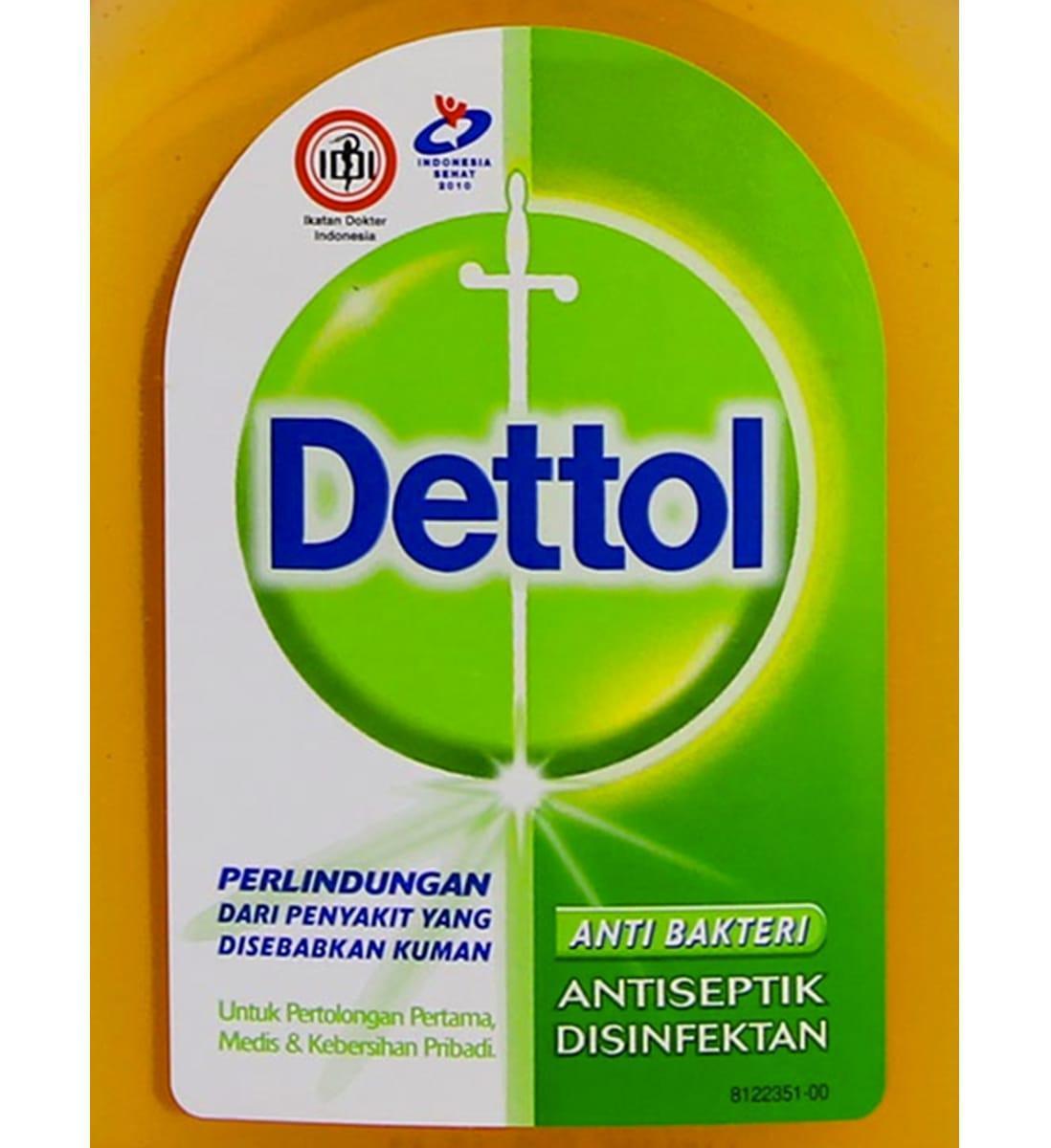 Kelebihan Dettol Liquid Antiseptic Botol 250ml Terkini Daftar Antiseptik Cair 100ml 3