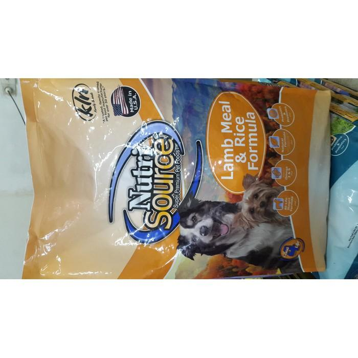 Jual Dogfood Nutrisource Lamb And Rice - H45sa9