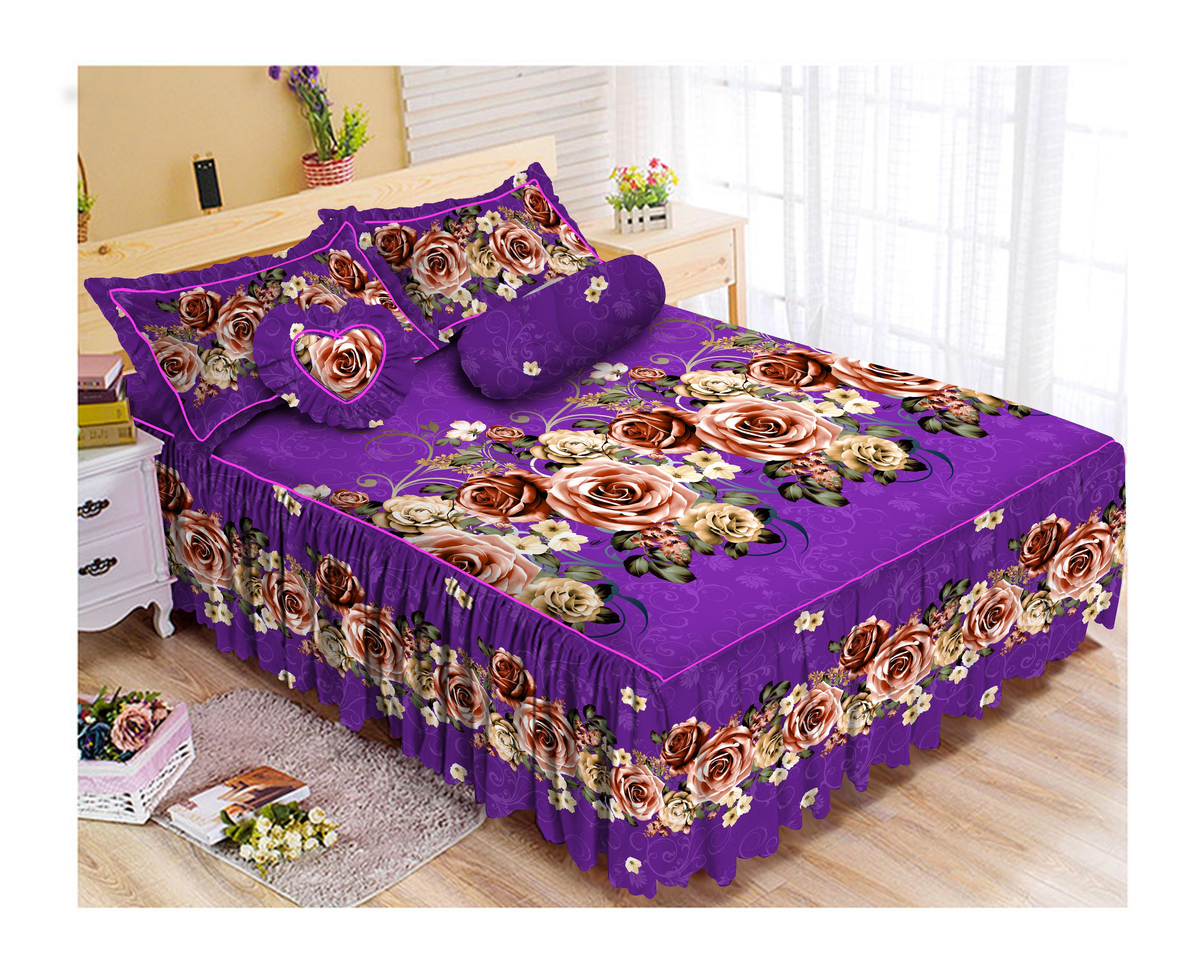 Kintakun Luxury Sprei Rumbai Bantal Busa (RBB) - 180 x 200 B2 (King