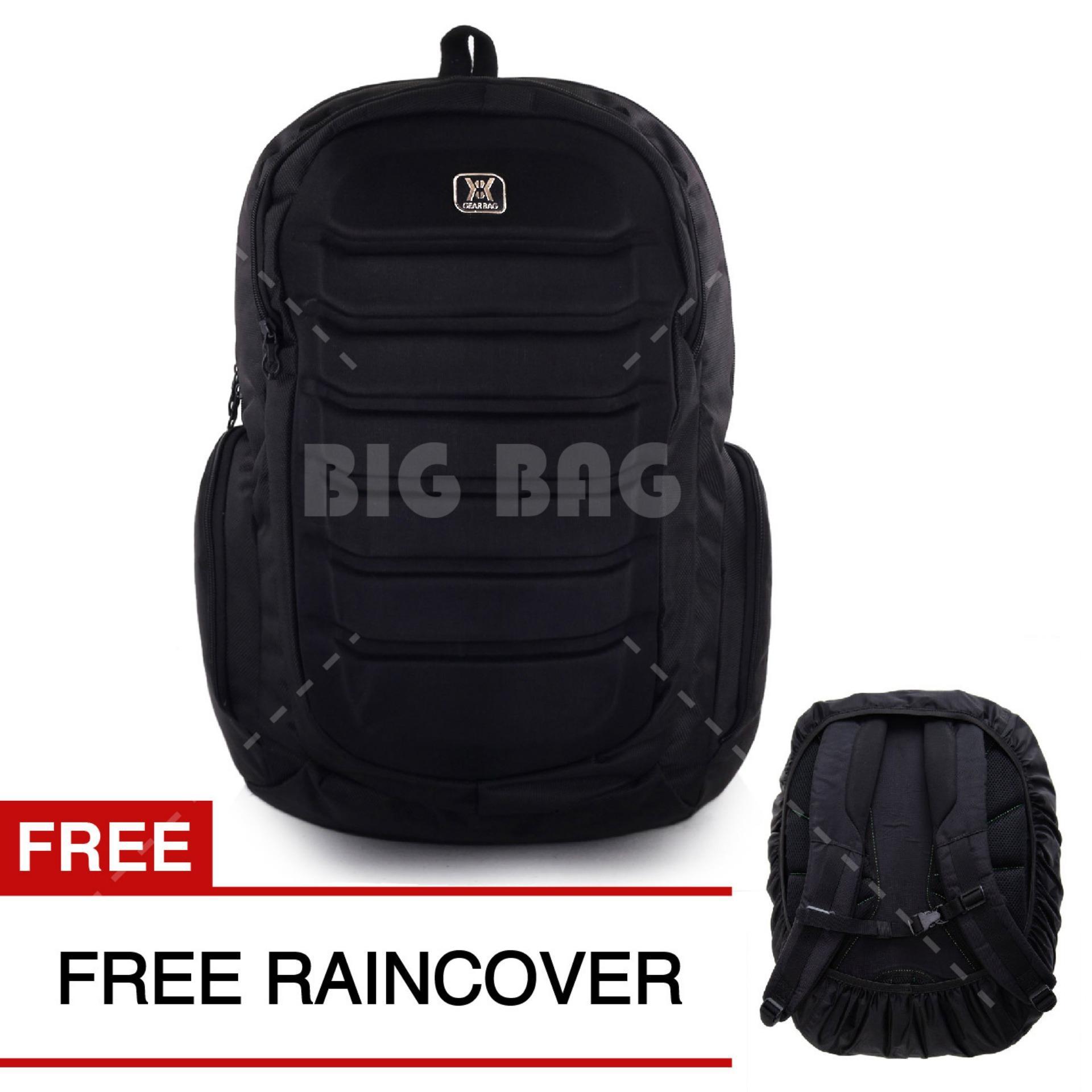 Review Tas Ransel Gear Bag Predator Tas Laptop Backpack Black Free Raincover Tas Pria Tas Kerja Tas Sekolah Dailypack Tas Fashion Pria Terbaru