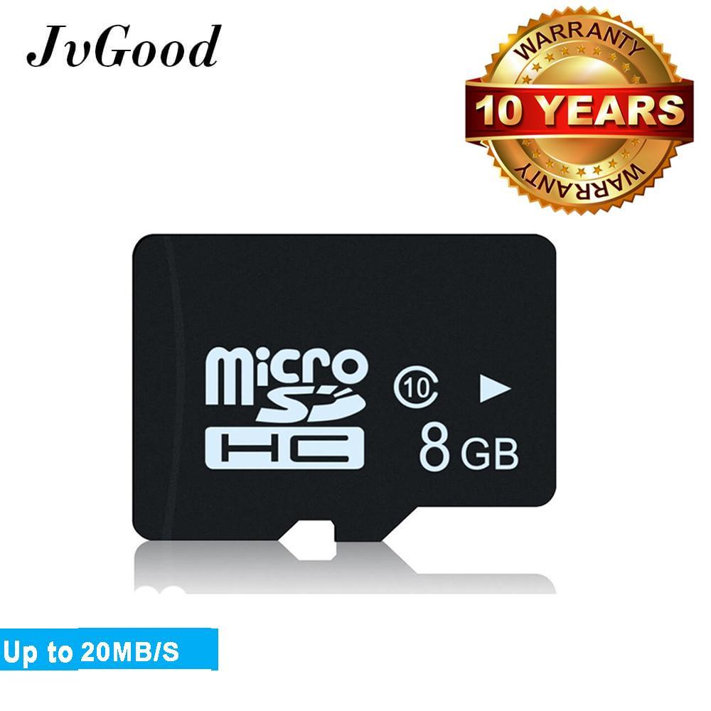 Jvgood Berkinerja Tinggi Micro Sd Card Sdhc 8 Gb Class10 Tf Flash Kartu Memori For Kamera Ponsel Kamera Mobil Tiongkok
