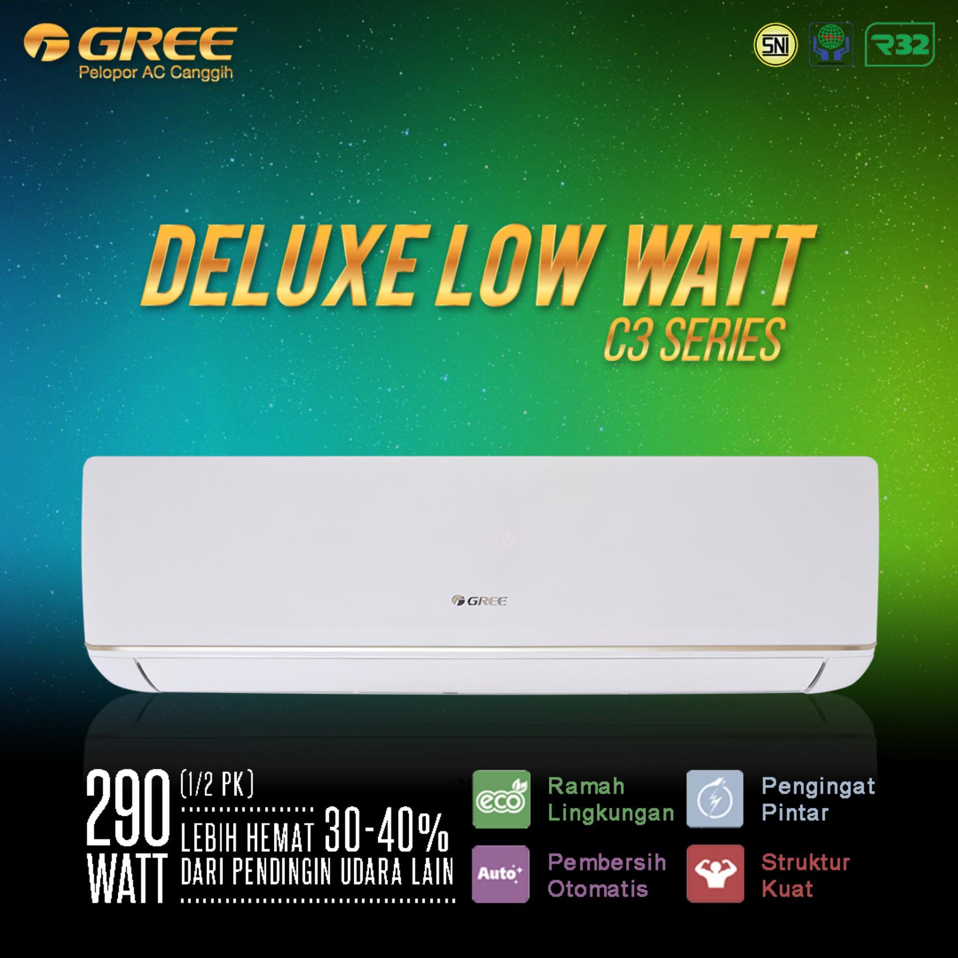 AC GREE 05C3 - Deluxe Low Watt Series (0.5PK) - Unit Only