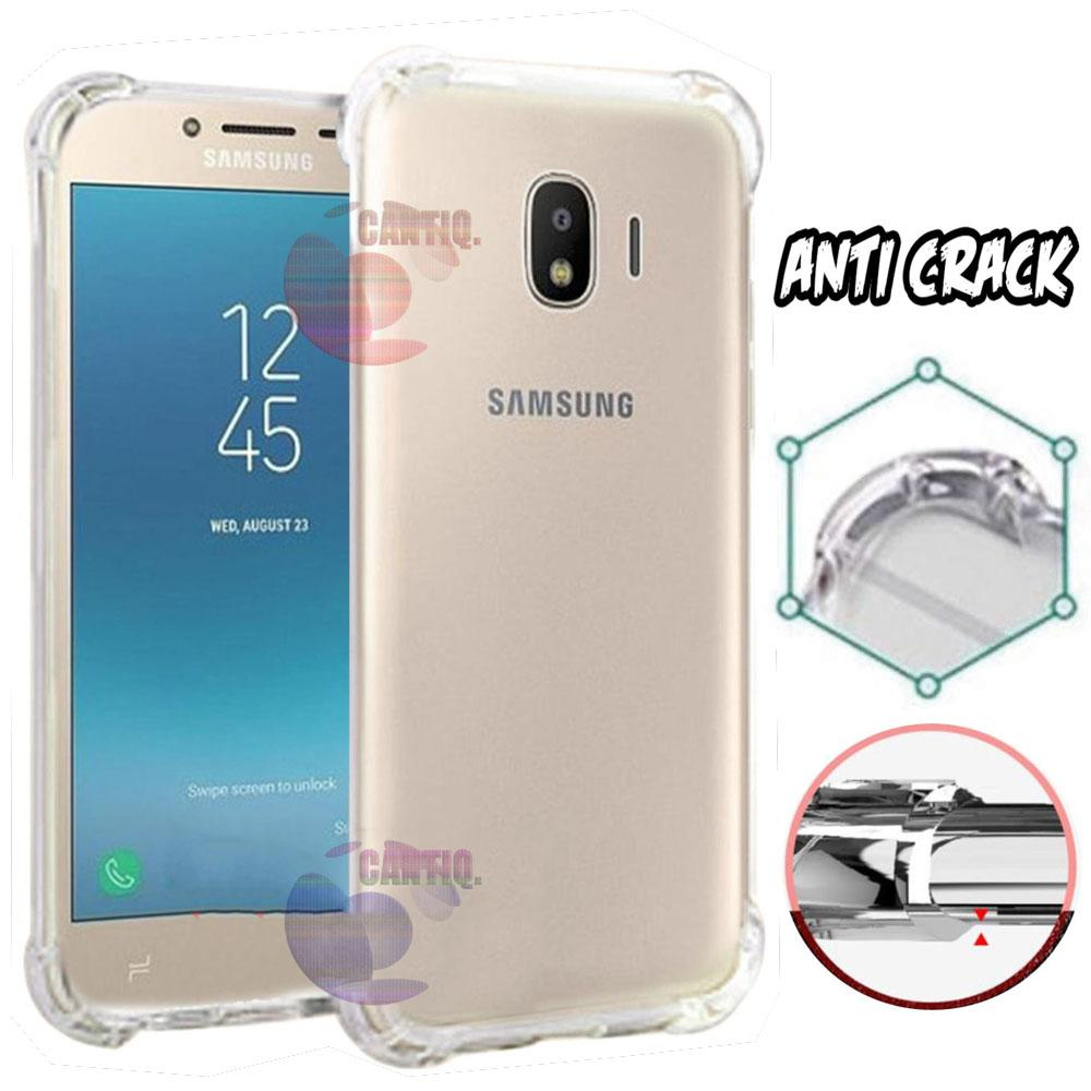 Case Anti Shock Samsung Galaxy J4 2018 Ultrathin Anti Crack Elegant Softcase Anti Jamur Air Case