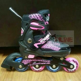 Harga Penawaran Sepatu Roda Anak Inline Skate Murah Power Line PL5800 Pink  discount - Hanya Rp246 82d494afd7