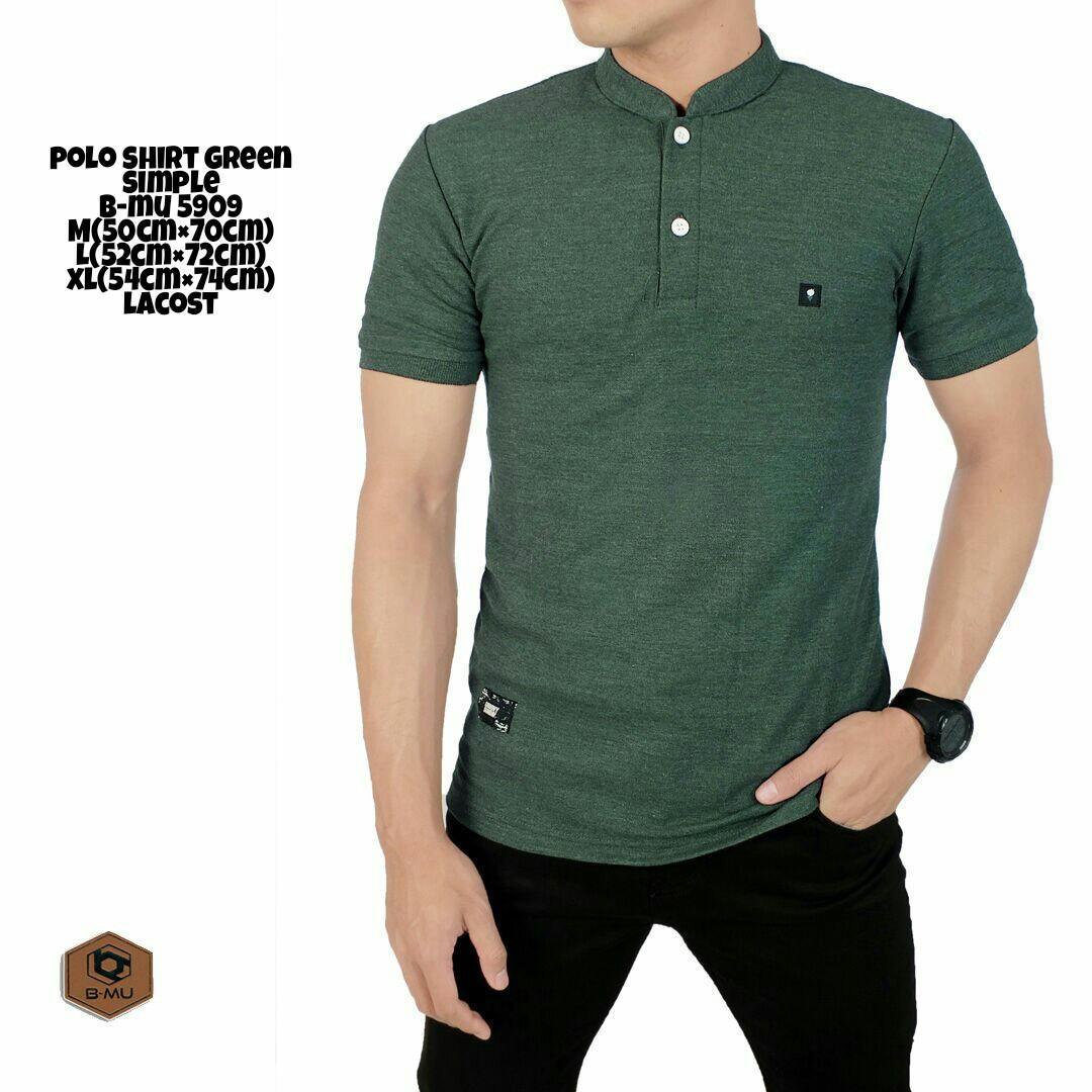 Harga Bajuku Murah Poloshirt Green Simple B Mu 5909 Kaos Polo Pria Kaos Distro Kaos Krah Kaos Pria Kaos Wanita Atasan Pria Atasan Wanita Fashion Pria T Shirt Pria Kaos Polos Kemeja Pria Baju Kantor Baju Kerja Slimfit Terbaru