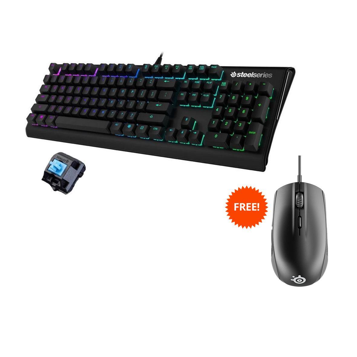 Logitech Mouse Keyboard Wireless Combo Mk220 Hitam Bonus Pad Com 920 003235