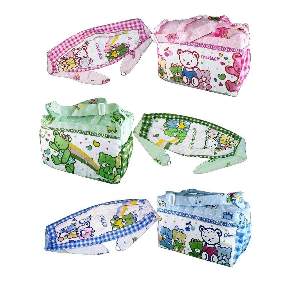 Harga Gema Chekiddo Set 2 In 1 Tas Gendongan Samping Bayi Dan Spesifikasinya