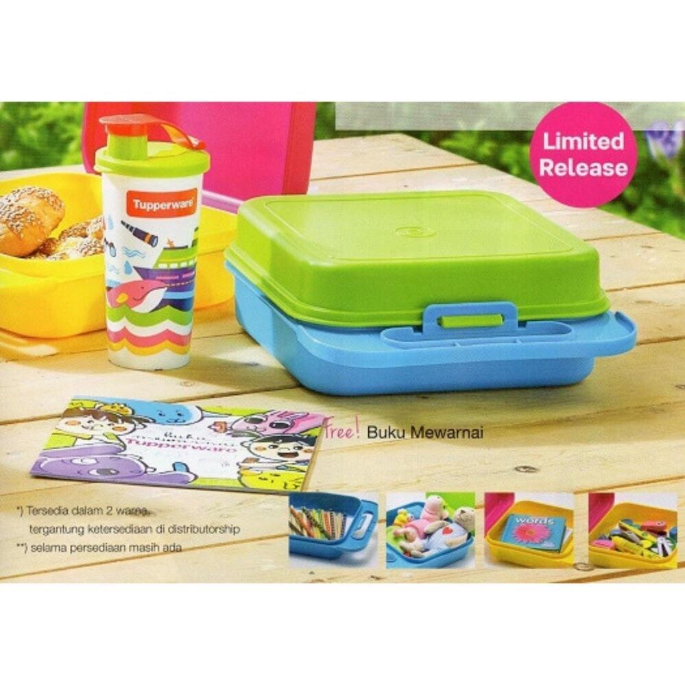 Gambar Produk Tupperware Kiddie Fun Box (Lunch Box Set) Selengkapnya