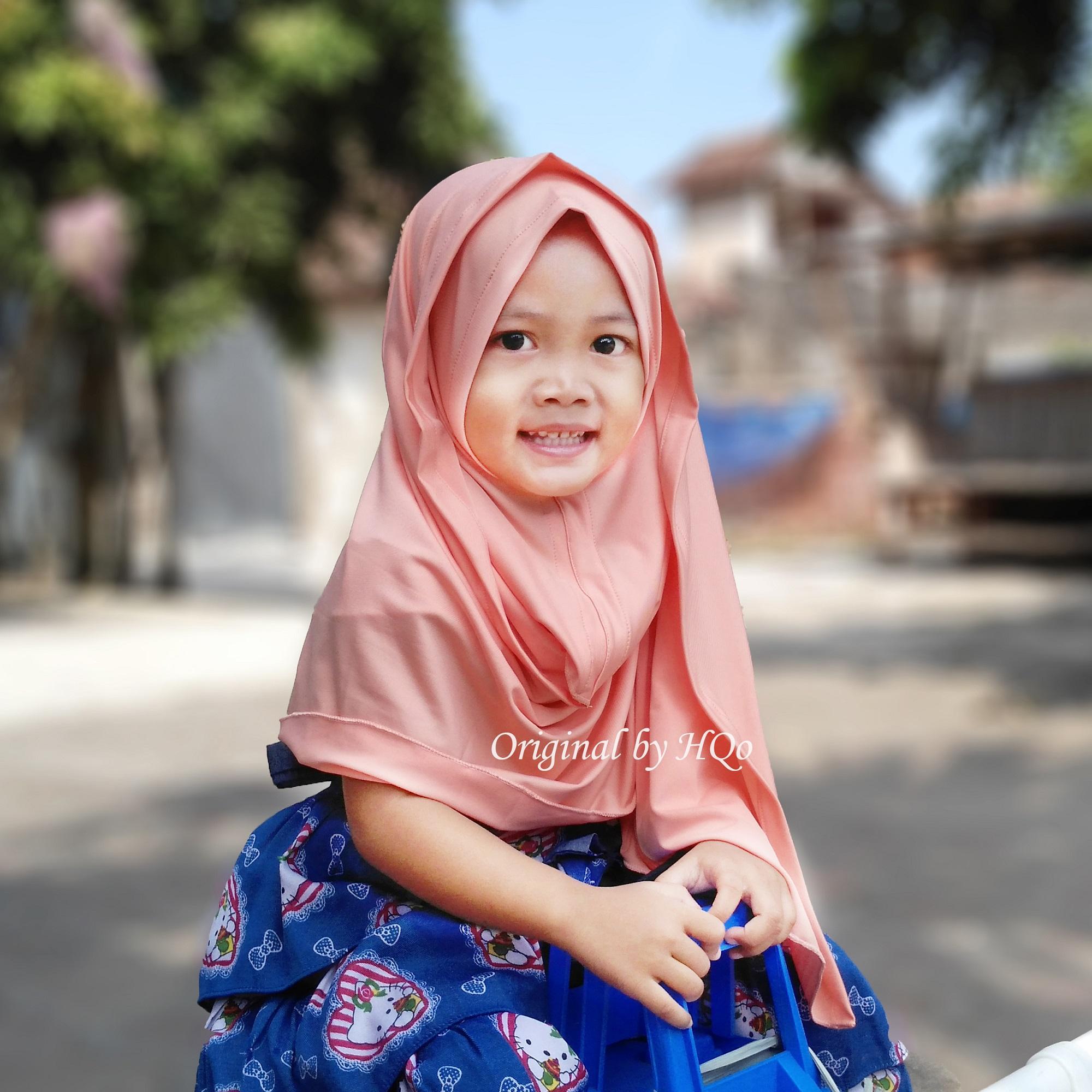 Cek Harga Baru Hqo Kerudung Anak Bayi Jilbab Anak Lucu Hijab Anak