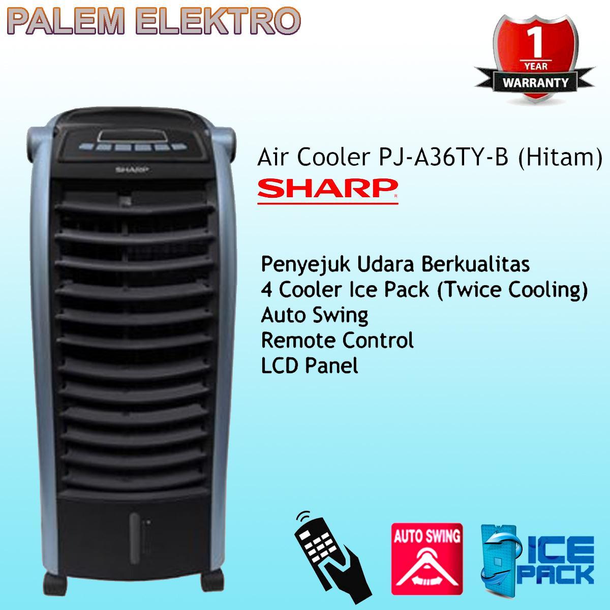 SHARP Sharp Air Cooler PJ-A36TY HITAM ( JADEBEK ONLY )