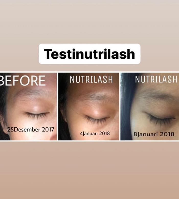 ... Nutrilash Serum Penumbuh Alis Bulu Mata Rambut Original Eye Lash - 15ml - 4 ...