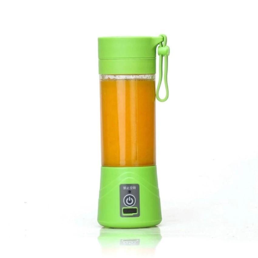 Blender Juice Cup Portable - Shake N Go Rechargeable Cup Juice - Hijau