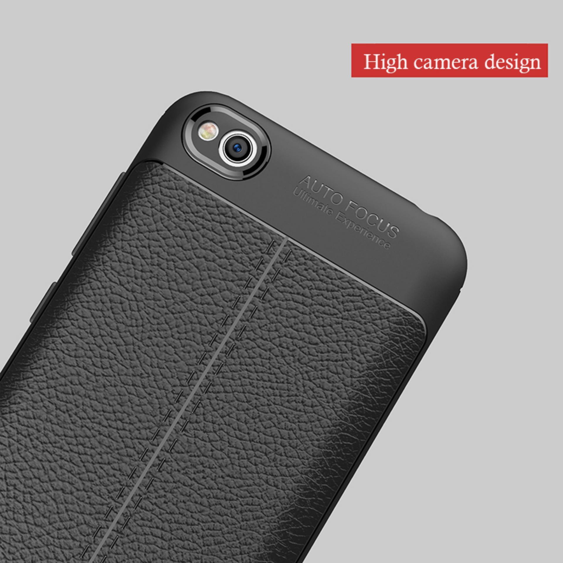 ... Kenzoe Accessories Hp Premium Ultimate Shockproof Leather Case For Xiaomi Redmi 5A - Black - 4 ...
