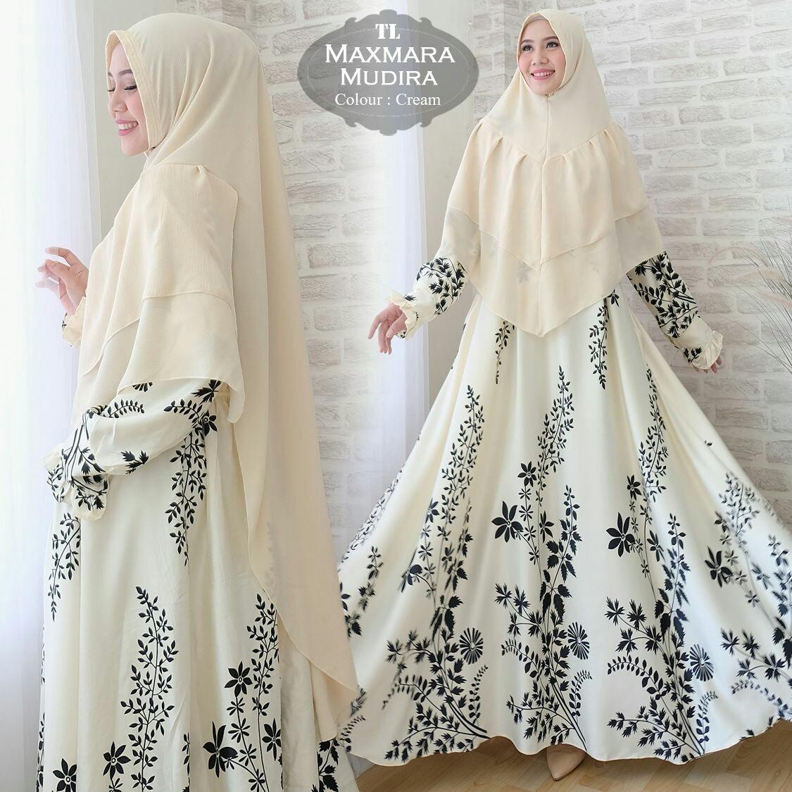 Ulasan Humaira99 Gamis Syari Jumbo Dress Hijab Muslimah Atasan Wanita Maxmara Mudira Xxl