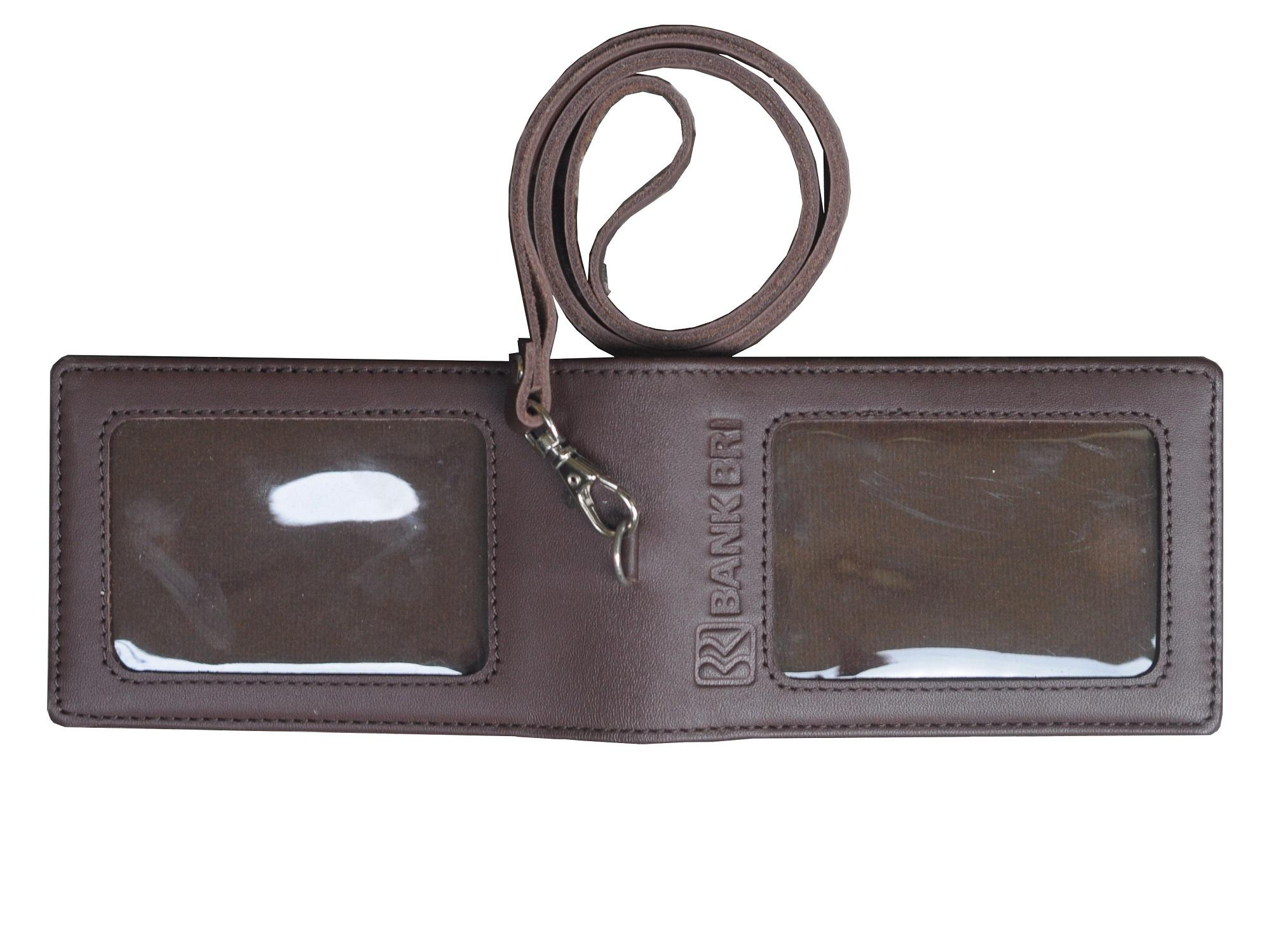Leather Castle Id Card Holder BRI - 3