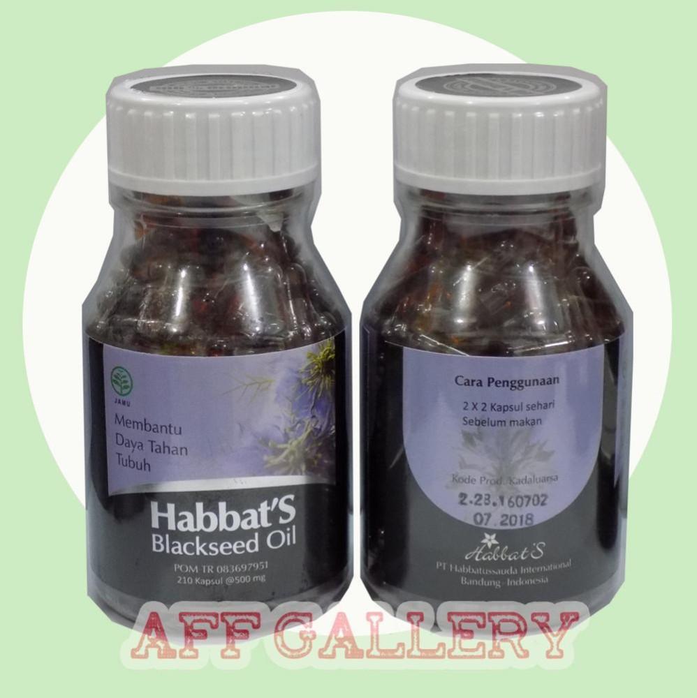 Buy Sell Cheapest Habbats Oil 369 Best Quality Product Deals Habbasyi 210 Kapsul Habbatusauda Minyak Blackseed Membantu Daya Tahan Tubuh Original Di Lapak Hj