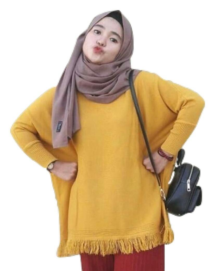 3K Raida bLouse - Soft Knite - Kuning Mustard