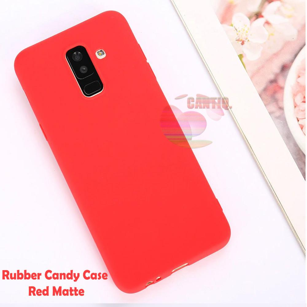 Lize Jelly Case Samsung Galaxy J8 2018 Candy Rubber Skin Soft Back Case / Softshell /