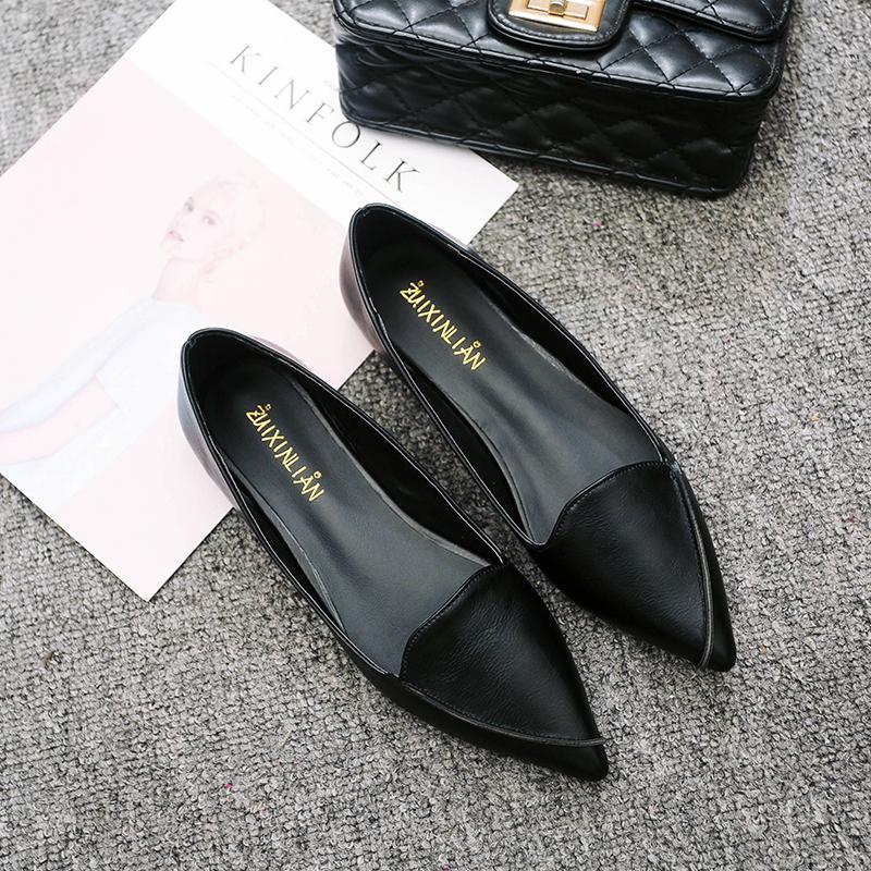 Sepatu Flat Slop Wanita Modis