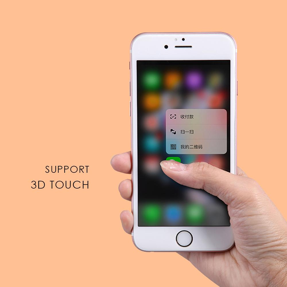 Detail Gambar Uneed Hybrid Glass 3D Screen Protector for Apple iPhone 6 / iPhone 6S - Hitam Terbaru