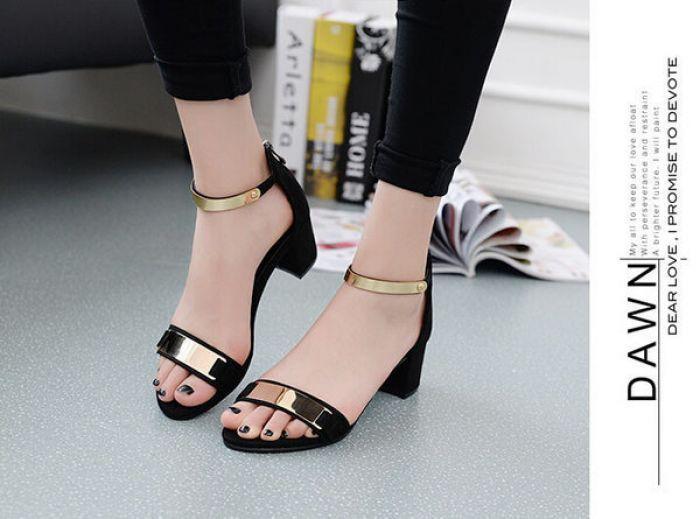 Sepatu Wanita High Heels Hak Tahu US01 Elegant utk Pesta dan Kerja Murah Berkualitas