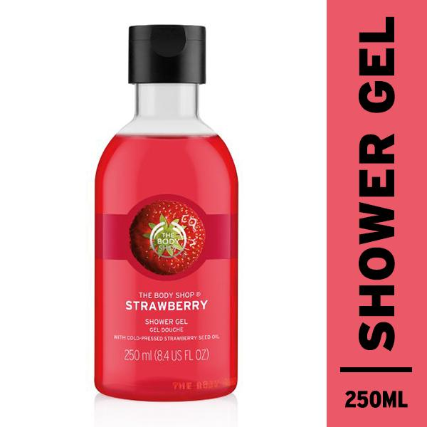 Jual The Body Shop Strawberry Shower Gel 250Ml The Body Shop Ori