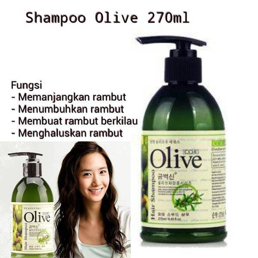 Shampoo Olive Pemanjang Rambut - Olive Nutrient Herbal - Olive Hair Shampo - Olive Shampo Minyak