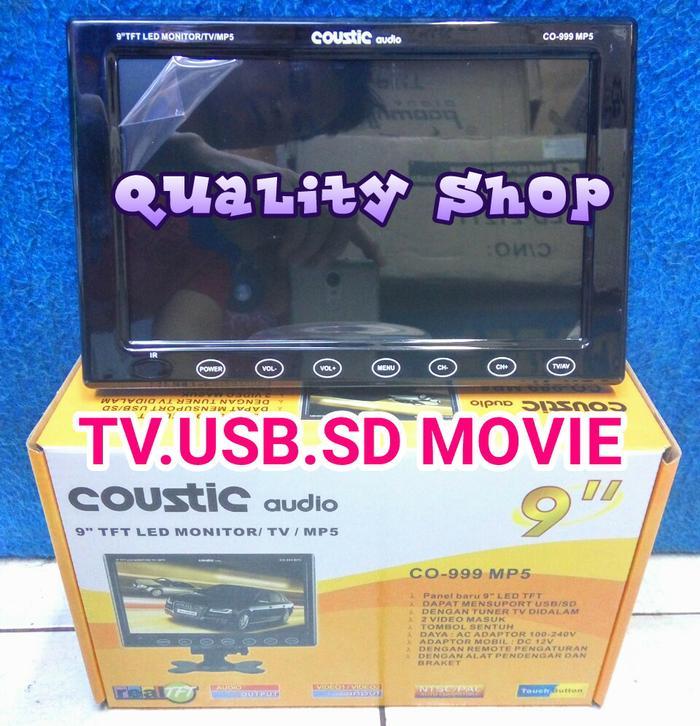 ORIGINALS  TV LED ONDASH 9 INCH SUPER SLIM USB SD MOVIE