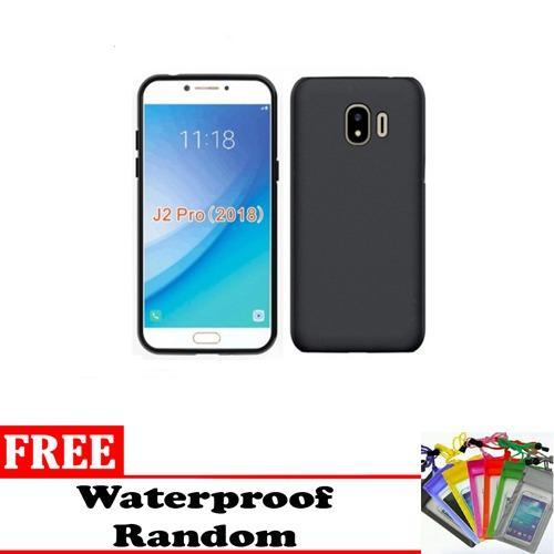 Midnight Case Samsung Galaxy J2 Pro 2018 Ultra Slim Matte Softcase (Anti Minyak) - Free Waterproof