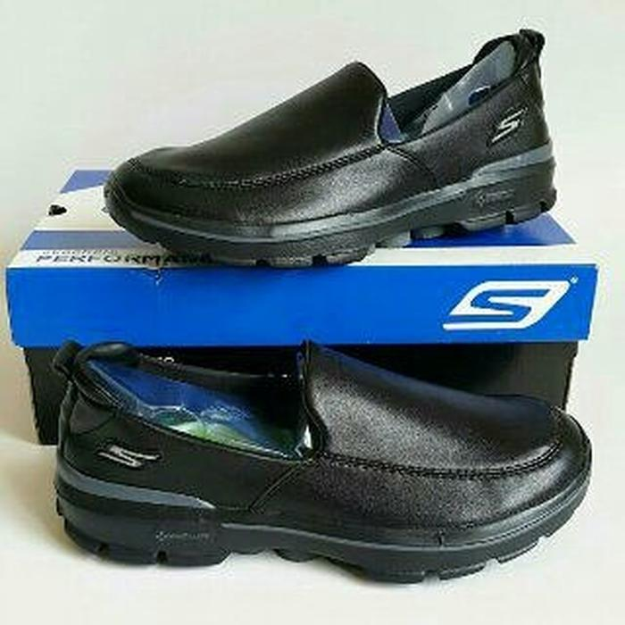 Kelebihan Hot Spesial!!! Restock! Sepatu Skechers Go Walk 3 Leather ... 64155402c8